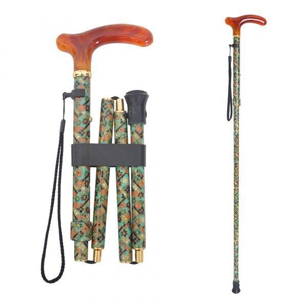 Fabric walking cane