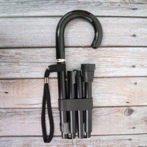 Crook Handle Aluminum Adjustable Walking Cane