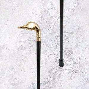 Supplier Brass Goose Head Walking Stick