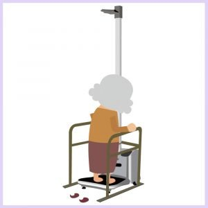 Hospital clinic assistive devices