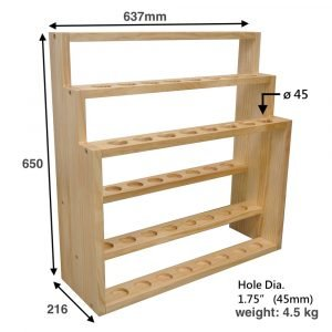 Wooden Walking Stick Display Stand